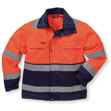 Hi-Vis Jacke, Kl. 3, Gr. XS, orange