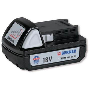 Batteri 18V, 2,0Ah, LI-ION
