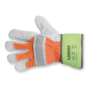 Reflector gloves size 10