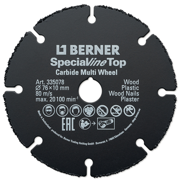 Disco de corte SPECIALline TOP Ø 125 x 22.2 mm