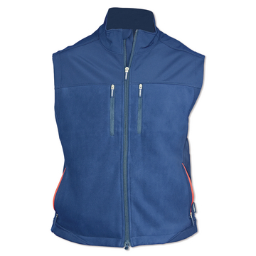 Gilet softshell in pile