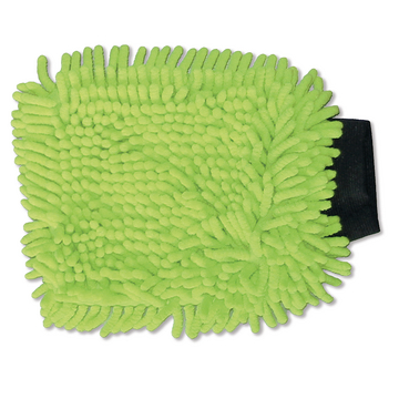 Washing glove Rasta green