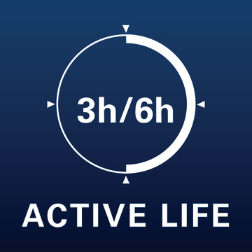 Picto 3/6h active life