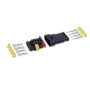 SteckVerbinder-Kit 4-polig 1-2 mm²