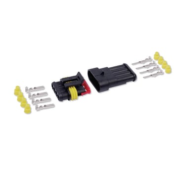 Kit conector estanque 4V 1,5mm