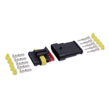 Kit conector estanque 5V 1,5mm