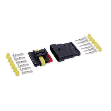 Kit conector estanque 6V 1,5mm