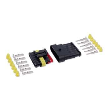Steckverbinder-Kit, 6-polig 1-2 mm²