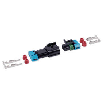 Connector-kit waterproof 2-P 2,8  mm