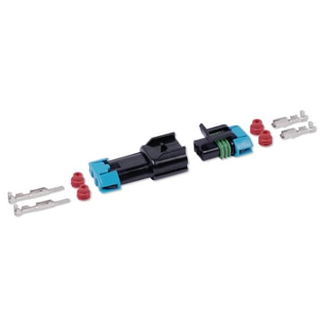 Reparatieset waterdichte connectoren male+female 280 serie 2-polig