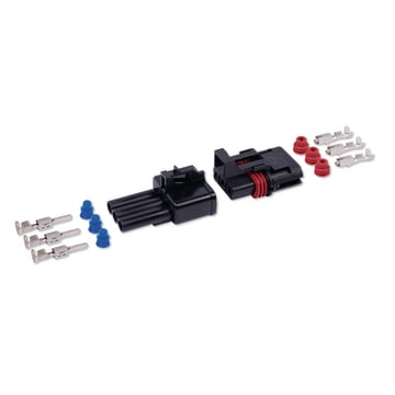 Connector-kit waterproof 3-P 2,8  mm