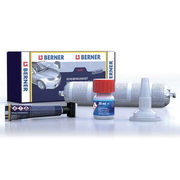 Windscreen adhesive Safe premium Set