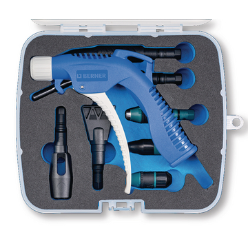 BLOW GUN BLUE SET