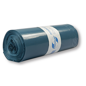 Refuse sacks 120L blue premium