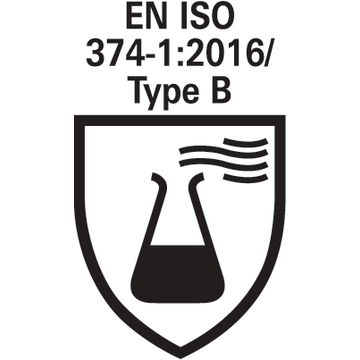 EN ISO 374-1:2016_Type B_pictogram