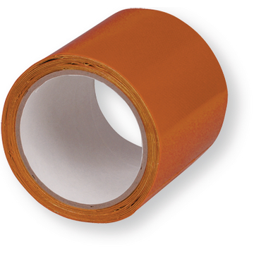 Réparation de bâche autocollant Easy Patch orange rouleau 2.5 m x 10 cm