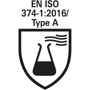EN ISO 374-1:2016_Type A_pictogram