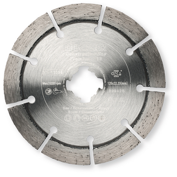 Disc diamantat de debitat S13 Premium X-LOCK 125 x 22,2 mm