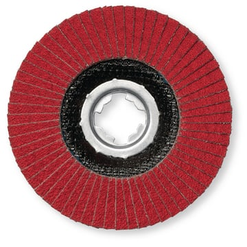 FLAP DISC CERAM. 125P40 X-LOCK