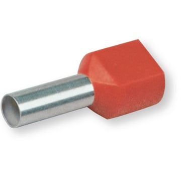 DOUBLE FERRULE 10,0N RED