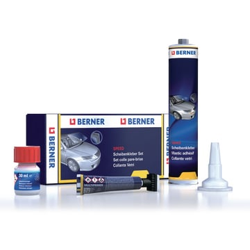 Set colle pare-brise SPEED en cartouche 310 ml