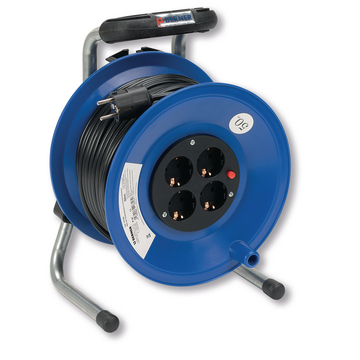 Cable Reel 50m PVC 3G1,5 Schuko Socket
