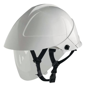 Arc flash safety helmet with face shield