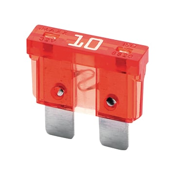 Blade fuse Normal 10A red