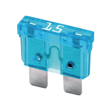 BLADE FUSE NORMAL 15A BLUE