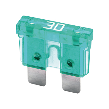 Blade fuse Normal 30A green