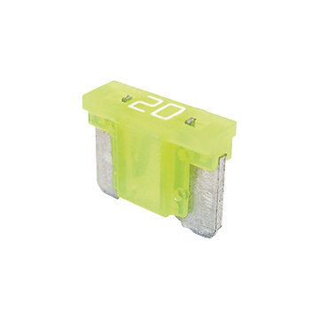 Blade fuse LP 20A yellow