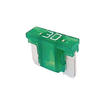 Blade fuse LP 30A green