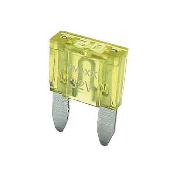 Blade fuse Mini 20A yellow
