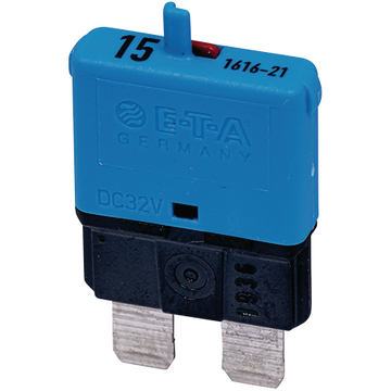 Automatic fuse Normal 15A blue