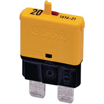 Automatic fuse Normal 20A yellow