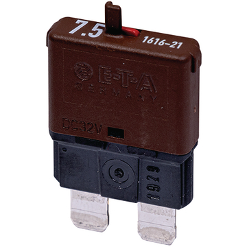 Automatic fuse Normal 7.5A brown