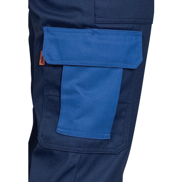 Classic Duo Work Waistband Trousers Dark Blue
