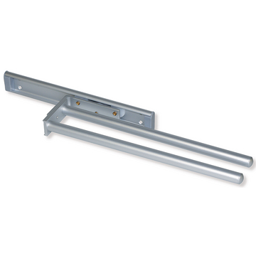 Porte-serviettes extensible long. 440 mm