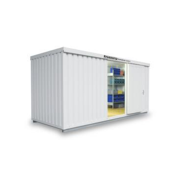 Materialcontainer,isoliert,HxBxT 2500x5080x2170mm,m. Isolierboden