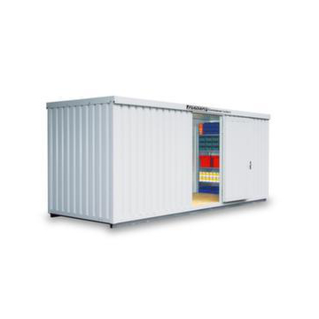 Materialcontainer,isoliert,HxBxT 2500x6080x2170mm,m. Isolierboden