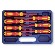 Assortiment de 7 tournevis VDE isolés Fente - PH - PZD