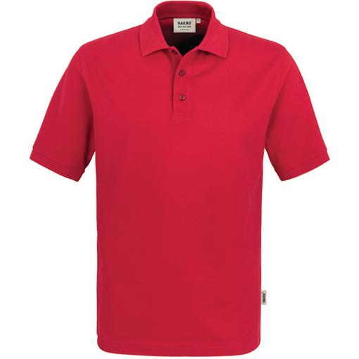 Polo-Shirt Premium, rot, Größe XXL Farbe: rot
