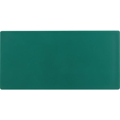 Leerschild KZS glatt grün unbedruckt