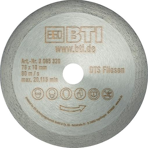 Diamant-Trennscheibe Fliesen Ø 76 x 1,0 x 10 mm