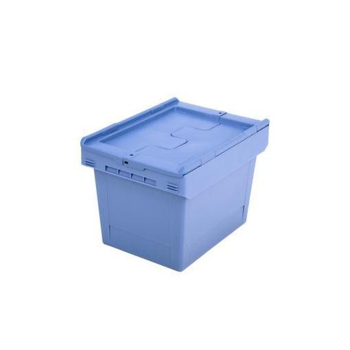 Mehrweg-Behälter,22l,HxLxB 290x410x300mm,PP,stapelbar,nestbar,verplombbar