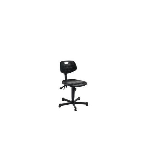 Arbeitsdrehstuhl,Sitz H 460-650mm,PU-Sitz,Gleit...