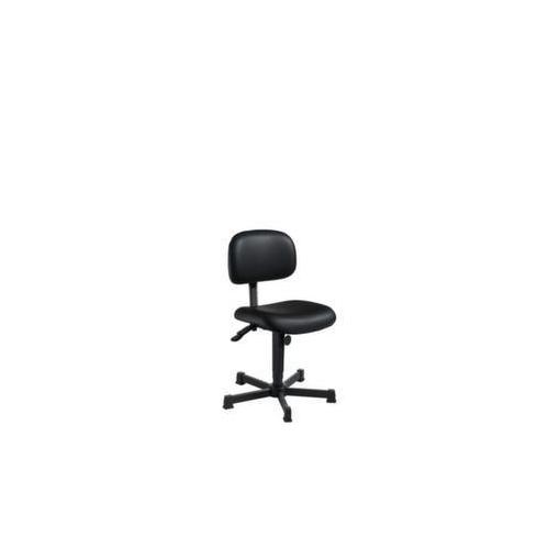 Arbeitsdrehstuhl,Sitz H 500-690mm,Kunstleder,Gl...