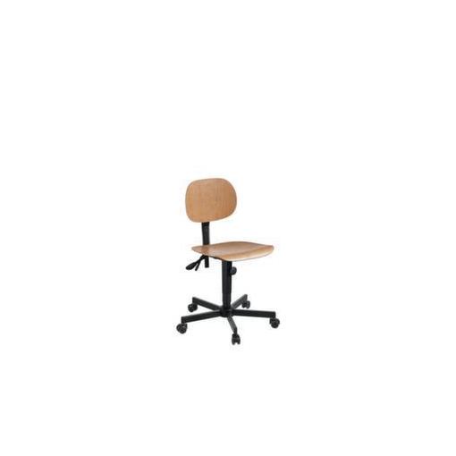 Arbeitsdrehstuhl,Sitz H 480-600mm,Buchenschicht...