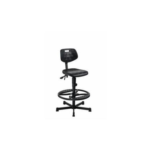 Arbeitsdrehstuhl,Sitz H 660-900mm,PU-Sitz,Gleit...