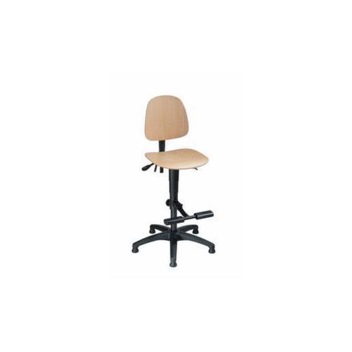 Arbeitsdrehstuhl,Sitz H 620-870mm,Buchenschicht...